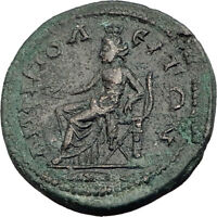 SEVERUS ALEXANDER 222AD Amphipolis Macedonia Ancient Roman Coin TYCHE i64751