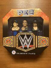 BRAND NEW SEALED PEZ WWE Gift Set, 1.74 Ounce THE UNDERTAKER JOHN CENA THE ROCK