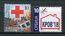 Serbia 2018 MNH Red Cross KPOB Help for Homeless 2v Set Medical Health Stamps