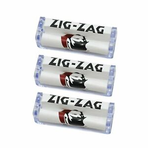 3 x Zig Zag Acrylic Plastic Rolling Machine 70mm Roller