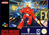Nintendo SNES Spiel - Vortex mit OVP sehr guter Zustand