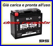 Batteria BS SLA Gel DUCATI MONSTER S4R 996 03>04 2003 2004 carica pronta all'uso