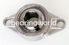 SUCSFL208-40MM  40MM Stainless Steel 2 Bolt Flange Bearing  MUCFL208-40MM