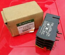 CRABTREE OVERLOAD RELAY 26500/MC  T-16  8 to 12A FOR STARTER MOUNTING ELECTRIC