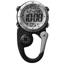 Digiclip Digital Watch Light-Up Black Compass Carabiner Clip Dakota30863