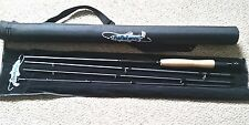 PROFISHENCY IM 8 GRAPHITE, 4 PIECE FLY ROD 5 LBS & CASE NEW IN WRAPPING & CASE