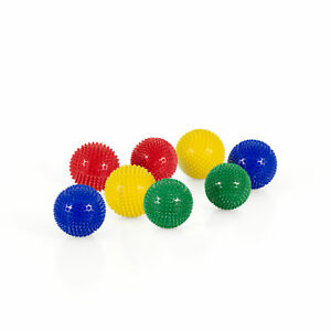 Magnet Akupunktur Massage Kugeln | 4 x 2er Set |Rot, Gelb, Blau, Grün ca. 45mm Ø