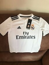 Adidas Real Madrid La Liga Soccer  Jersey NWT Size  Small Youth