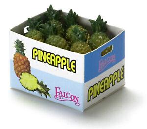 Dollhouse Miniature Pineapple Case