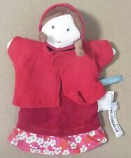 Moulin Roty Red Riding Hood Hand Puppet 9 Inches Tall, Toddler Toy, Ages 1Year+