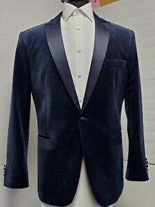 Navy Velvet tuxedo 46 L Long Slim Fit
