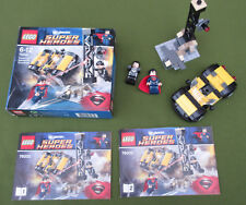 LEGO SUPERMAN 76002 Super Heroes Complet Boite notice voiture 2 Figurine Minifig