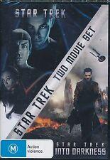 Star Trek 2-movie set DVD NEW Into Darkness Region 4