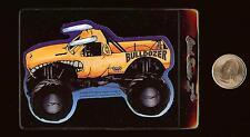 BULLDOZER Monster Jam Vending Machine Sticker / 2000 SFX Motor Sports Hot Wheels