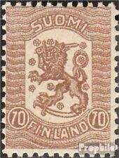 Finland Mi.-Aantal.: 100 met Fold 1918 Postzegels Waasa