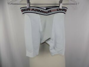 Under Armour Shorts Padded Compression Performance Apparel Youth Boys Sz Small