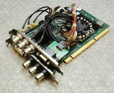 DVS Lucy4 HD/SD SDI I/O DVI RMT PCI-e Video Capture Card & Cables