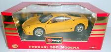 BURAGO 1/18 - COD.3368 FERRARI 360 MODENA 1999 - YELLOW