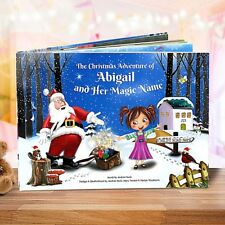 Premium Personalised Christmas Story Book for Children - Santa Claus  - HARDBACK