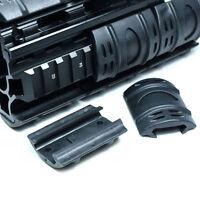 12 PCS Universal 20mm Weaver Picatinny Rubber Rail Covers Hand Guard Black