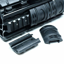 Rifle Weaver Picatinny Hand Guard Quad Rail Covers Rubber Tactical Black X 12