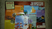 The Competition For Life On Earth A1 Educational Poster Science Bacteria Ecology