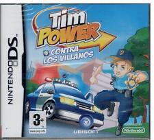 Tim Power - Contra los villanos (Nintendo DS Nuevo)