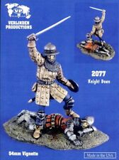 Verlinden Productions 1:32 54mm Knight Down Resin Figure Kit #2077