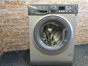 Graphite Hotpoint Smart Tech 7kg 1400 Spin Washing Machine