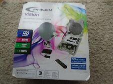PHILEX VISION Full HD 1080 Portable Satellite TV System New In Box