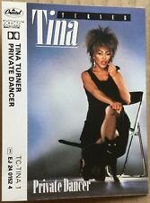 TINA TURNER  Private Dancer   1984 UK cassette CAPITOL label   PLAY TESTED   Ex!