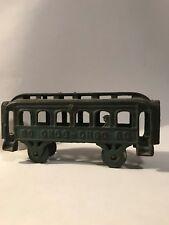 AC Williams Cast Iron Green Train Car