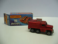 MATCHBOX SUPERFAST-MB 16 BADGER-Rola. Applica-Made in England