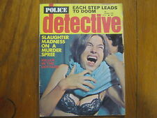 "October,  1976  ""Police  Detective""   Magazine"
