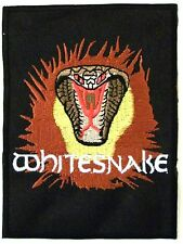 WHITESNAKE PATCH BRODE - EMBROIDERED PATCH