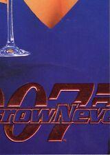 James Bond Tomorrow Never Dies Chase/Insert Teri Hatcher Puzzle Piece T8