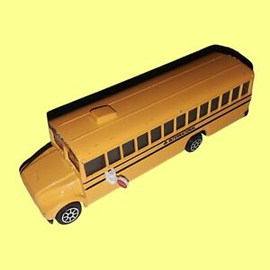 Vintage 1992 Road Champs - Sounds of Power School Bus Electronic Talking DieCast