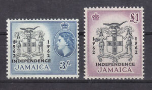 Jamaica 1962 SG190 + 192 MNH Lovely Condition