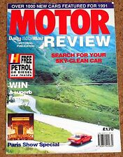 1991 Daily Mail Motor Show Guide inc Quattro F40 Alfa SZ Diablo XJ220 MR2 TVR
