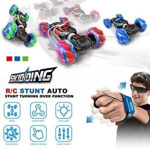 Electric Twist Stunt RC Car High Speed Remote Control Off Road Car Toy ON