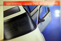 Pontiac 1990 Dealership Grand Prix Sports Sedans Sales Brochure Car