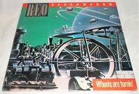 REO Speedwagon ~ Wheels Are Turnin *1984 Vinyl LP* Epic Records QE 39593