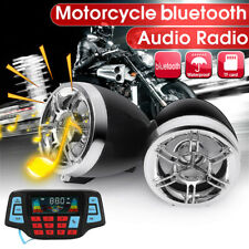 Motorcycle bluetooth Audio FM Radio System Stereo Speaker MP3 Player Amplifier