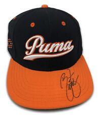 Rickie Fowler Signed Autographed Puma Cap Black/Orange JSA