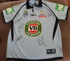 SIGNED BNWT NSW STATE OF ORIGIN JERSEY~*~ 5 BLUES LEGENDS INC FITTLER + COA