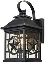 Outdoor Patio Porch Exterior Light Fixture Wall Lantern Sconce Rustic Lighting