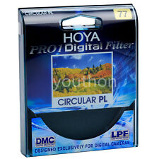 Hoya Pro1 77mm Digital Circular PL Filter CPL for Canon Nikon Sony DSLR Lens