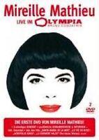 MIREILLE MATHIEU 'LIVE IM OLYMPIA' 2 DVD NEW+