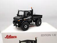 Schuco 1/32 Mercedes-Benz Unimog U1600 Metal Tractor Car Model Collection Black