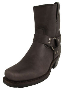 Frye Womens Harness 8R Pull On Square Toe Boots